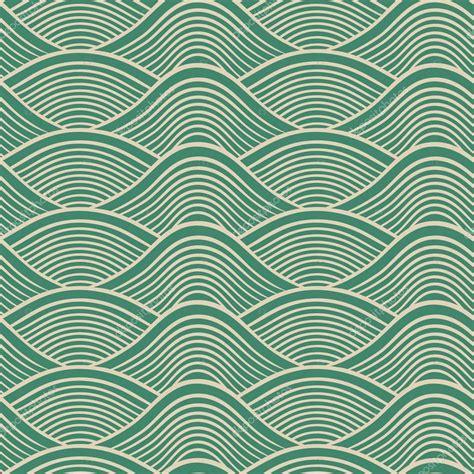 Stock Wave Pattern | japanese seamless ocean wave pattern stock vector