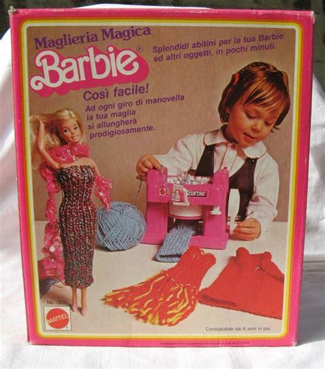 vendo maglieria magica barbie anni 80