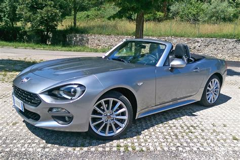 fiat spider 2016 2016 fiat 124 spider review it s a more refined mazda mx