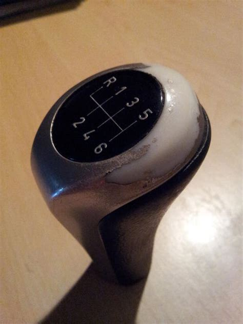 gear knobs original bmw e90 6 speed gear knob and gaiter