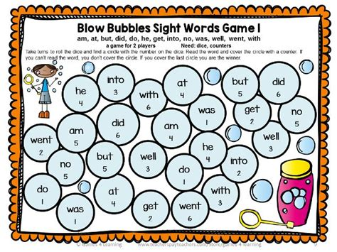 printable literacy word games dolch sight words games primer list word games learning