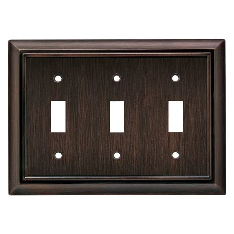 liberty architectural 3 toggle switch wall plate