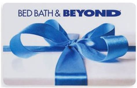 bed bath and beyond gift card balance gift card policy