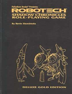 shadow trapped the collector chronicles volume 3 books palladium books store robotech shadow chronicles rpg gold