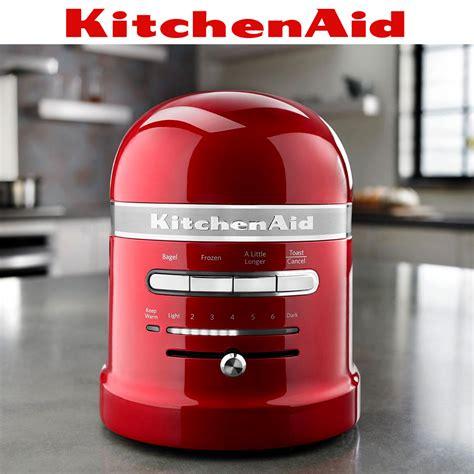 kitchenaid artisan  slot toaster raspberry ice cookfunky