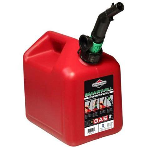 briggs stratton 2 gal gas can w228 the home depot