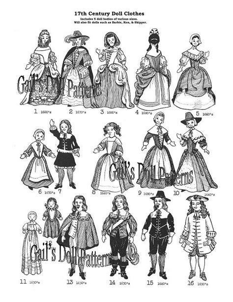 fashion doll 17th century dolls page2