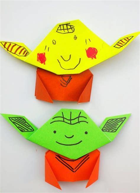 Origami Yoda Easy - best 25 origami yoda ideas on origami