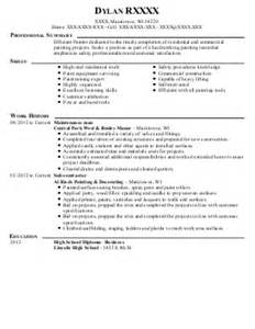 resume for painters sales painter lewesmr