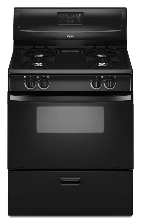 Broiler Drawer Gas Oven by Whirlpool Wfg114swb 4 4 Cu Ft Gas Range W Broiler