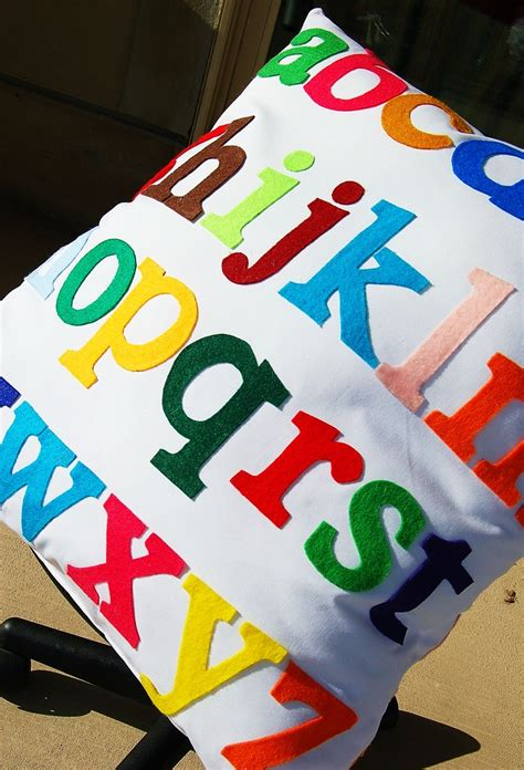 Abc Felt abc pillow felt letters i felt craft