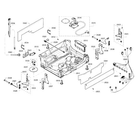 bosch classixx dishwasher parts diagram bosch classixx dishwasher wiring diagram choice image