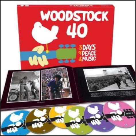 woodstock woodstock  years    yasgurs farm japanese  cd album set