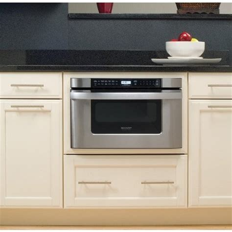 Sharp Drawer Microwave by Kb6524ps Sharp 24 Quot Built In Microwave Drawer