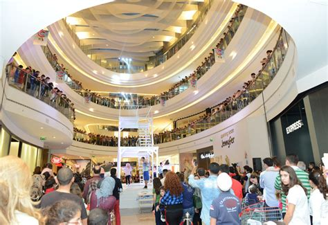 shopping in beirut maf s new beirut mall achieves footfall record