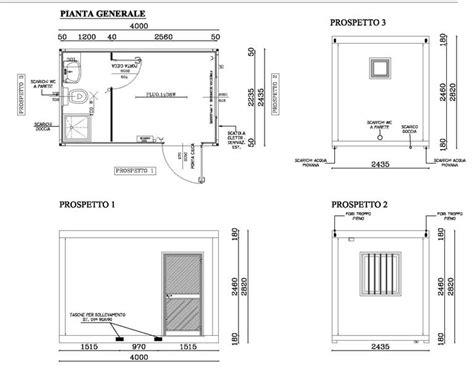 box doccia prefabbricati box prefabbricato con bagno 4 metri