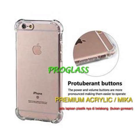 Softcase Anticrack Iphone 6 iphone 6 6s anticrack anti anti shock premium acrylic shopee
