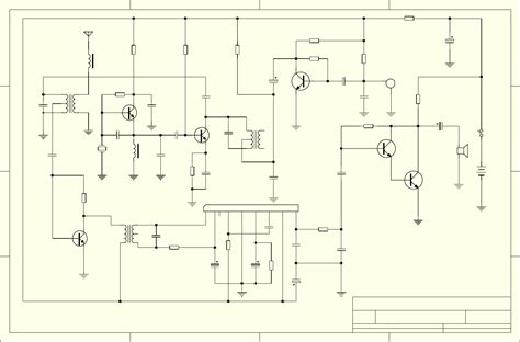 walkie talkie schematic two transistor simple walkie