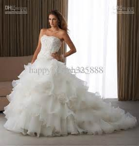 Back to post wholesale wedding dress buy beautiful strapless white