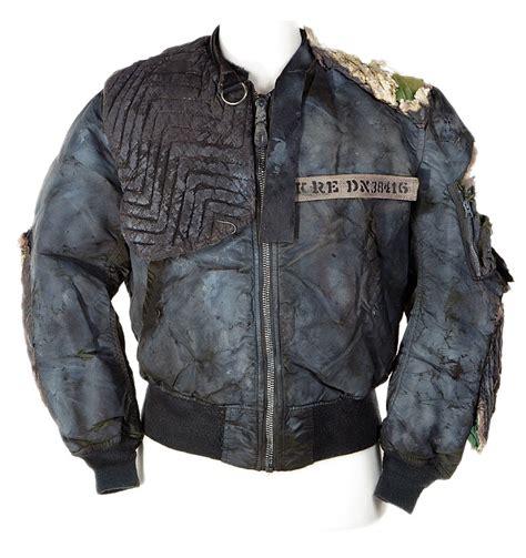 Jaket Vintage Rebel Sandwash michael biehn kyle reese futuristic rebel jacket from the