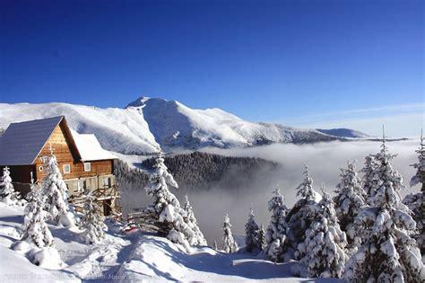 galerie von images romania nature mountains scenery clouds romania scenery winter  romania