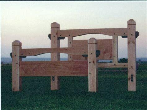 Timber Frame Bed Timber Framed Beds Tamarack Timber Works St Ignatius Montana