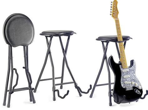 Tabouret De Guitariste by Stagg Gist 300 Tabouret Guitare Stand Pliable