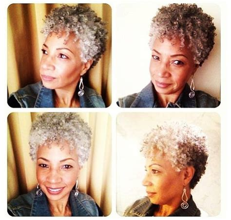salt pepper african american natural hair images salts style and your hair on pinterest