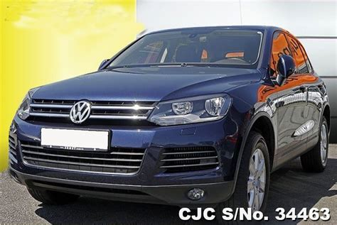 auto air conditioning repair 2011 volkswagen touareg electronic toll collection 2011 left hand volkswagen touareg blue metallic for sale stock no 34463 left hand used cars