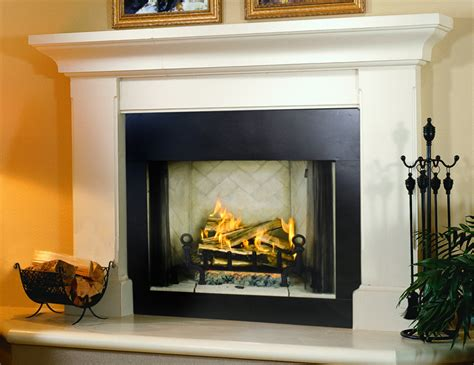Gas Fireplace And Mantel Fireplace Mantel Surround On Custom Fireplace Quality