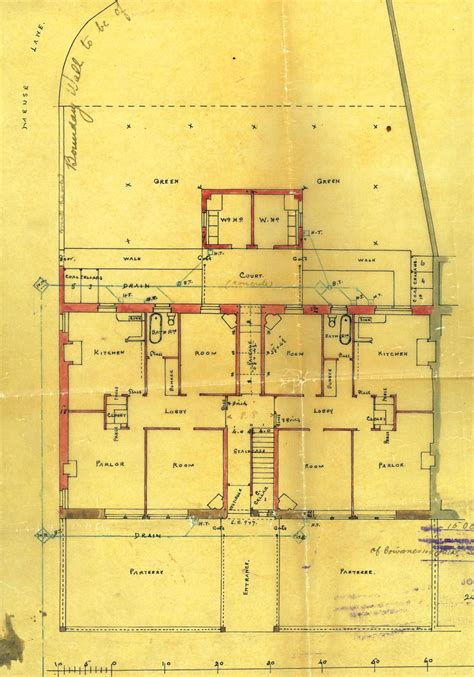 tenement floor plan allan architect and his stirling buildings 1893 1911