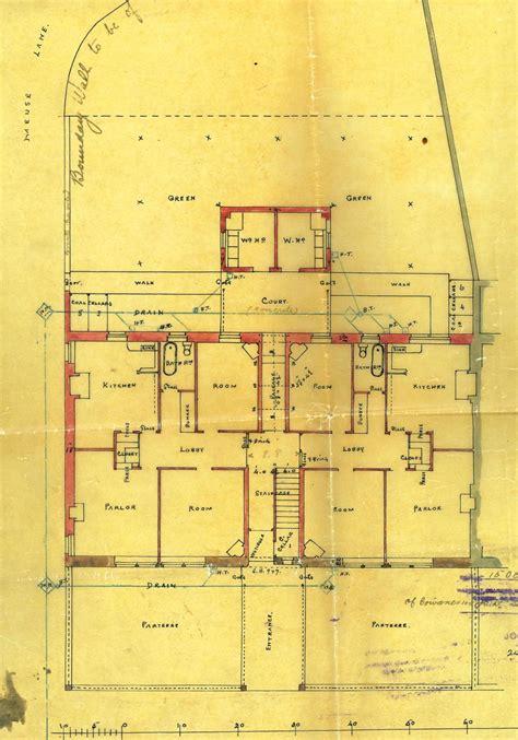 tenement floor plan john allan architect and his stirling buildings 1893 1911
