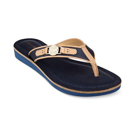 navy sandals for hilfiger womens jayne2 sandals in blue navy