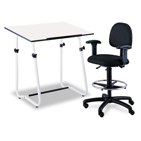 Where Can I Buy A Drafting Table Safco 174 Drafting Table Top Rectangular 48w X 36d White Saf3951 Ibuyofficesupply