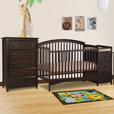 storkcraft kenton 5 drawer dresser espresso storkcraft 2 piece nursery set bradford convertible crib