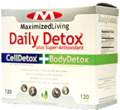 Neuro Cleanse Detox Maximized Living by Maximized Living Announces New Improved Daily Detox
