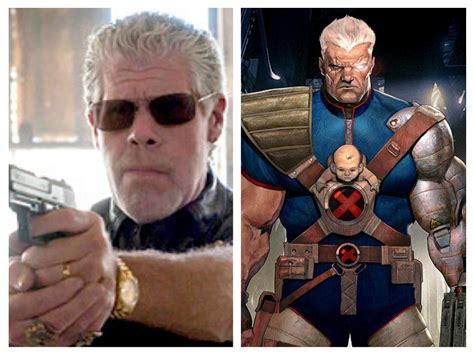 actors who could play thanos could ron perlman play cable in deadpool sequel screengeek