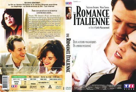 film une romance italienne jaquette dvd de une romance italienne cin 233 ma passion