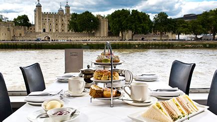 thames river boat afternoon tea bateaux london thames afternoon tea cruise for two red