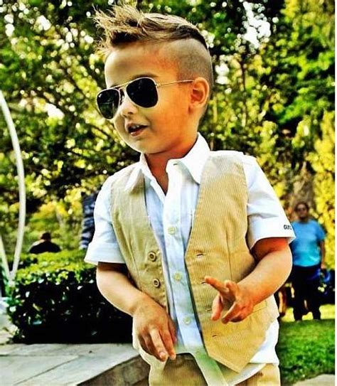 how to have a neat hairstyle with baby fine hair 35 cute toddler little boy haircuts 2018 ashstyels com