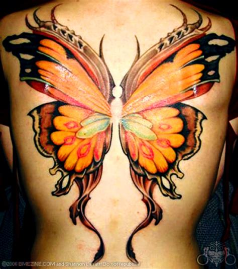 butterfly wings tattoo sci beautiful butterfly designs