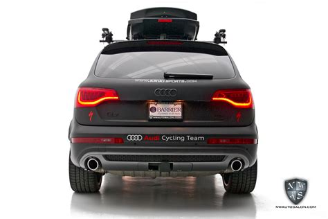 audi cycling insufferable cavort audi cycling team q7 tdi receives a