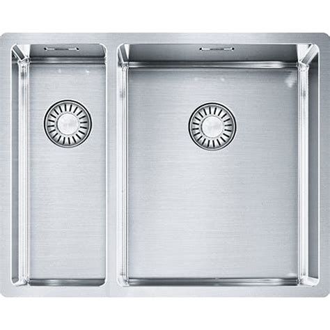 Evier Inox Franke 2 Bacs by Franke Box Evier Inox 2 Bacs 560 Mm 1220375281 Eviers
