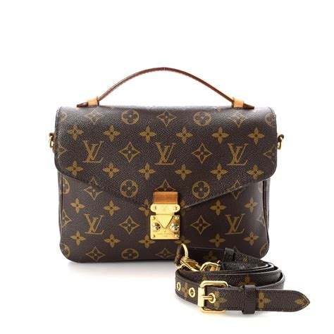 louis vuitton pochette metis monogram coated canvas