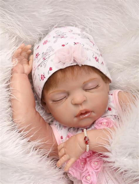 anatomically correct dolls reborn 23 quot silicone sleep baby anatomically