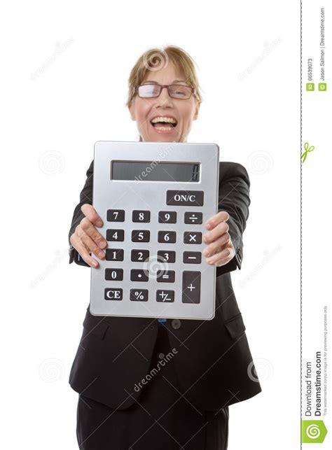 large calculator stock image image