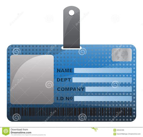 id card design jpg id card with texture stock illustration image 62642499
