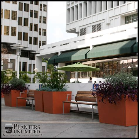 large commercial planters hotel planters planters unlimited