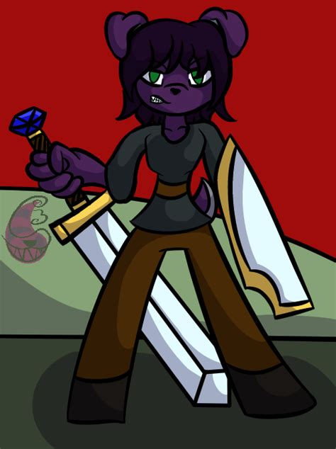puppy pers swordsman pers by chaoscatcypher on deviantart