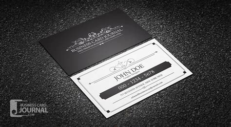 vintage name card template free retro vintage business card templates 187 business